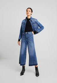 Calvin Klein - SUPERFINE CREW NECK - Jumper - black - 1