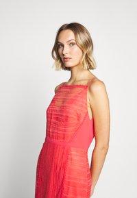 Three Floor - LYNDI DRESS - Maxi dress - spiced coral - 4