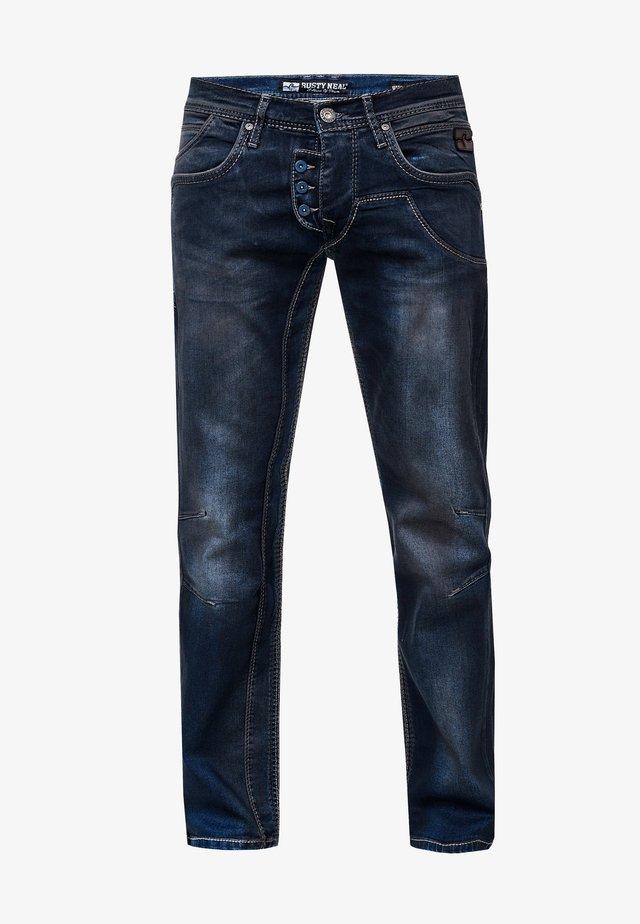 RUBEN - Slim fit jeans - dunkel blau