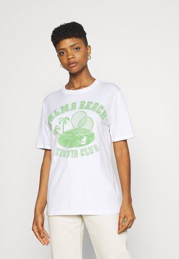 ELLIE TEE - T-shirt med print - white