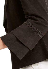 Marc Cain - Leather jacket - arabica - 3
