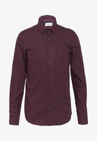 Calvin Klein Tailored - FLOWER PRINT - Formal shirt - red - 0