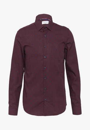 FLOWER PRINT - Formal shirt - red