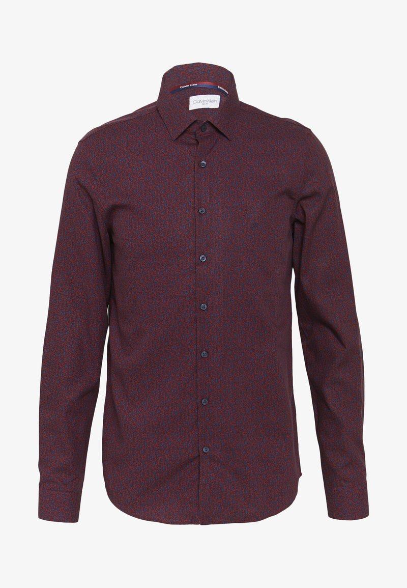 Calvin Klein Tailored - FLOWER PRINT - Formal shirt - red