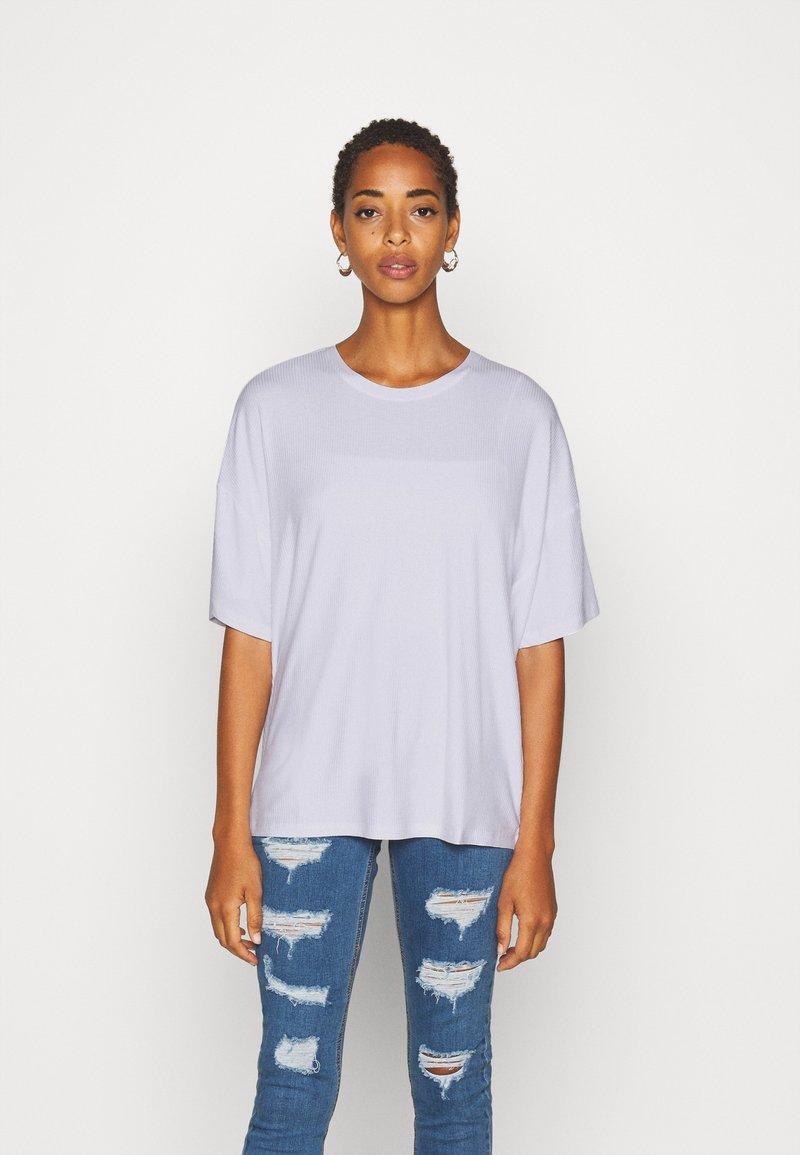 Even&Odd Tall - OVERSIZED SLOUCHY TEE - Jednoduché triko - white