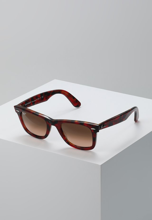 0RB2140 ORIGINAL WAYFARER - Gafas de sol - red on orange havana
