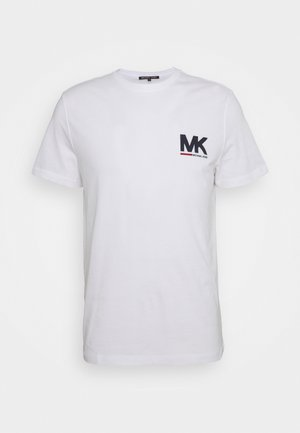 SPORT LOGO TEE - Print T-shirt - white