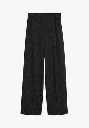 MARLEN - Pantalones - gris chiné foncé