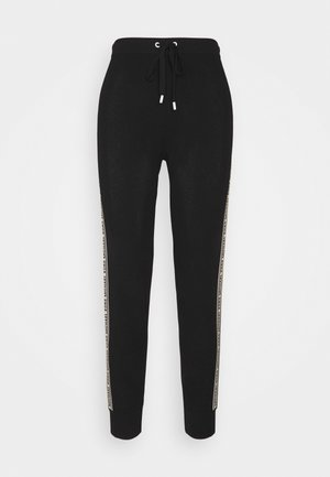 LOGO TAPE JOGGER - Jogginghose - black
