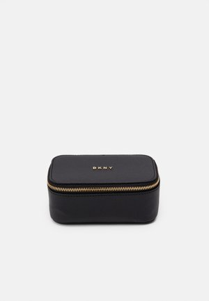 GIFTING JEWELRY BOX - Wash bag - black/gold-coloured