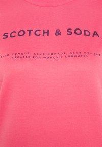 Scotch & Soda - CLUB NOMADE BASIC - Top sdlouhým rukávem - watermelon - 2