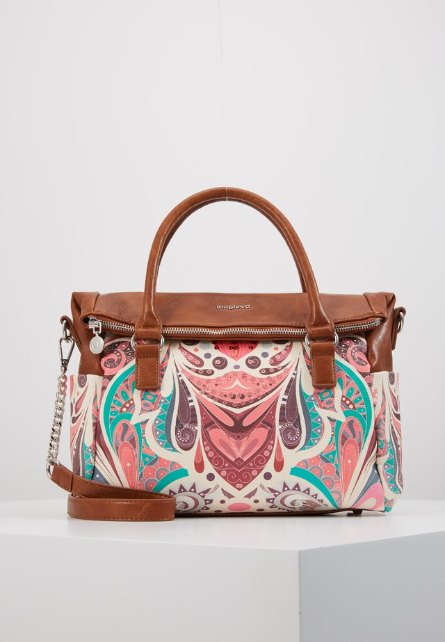 MULTIVERSE LOVERTY - Handbag - salmon palido