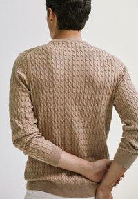 Massimo Dutti - Sweater - nude - 2