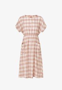 OYSHO - GINGHAM - Day dress - light pink - 4