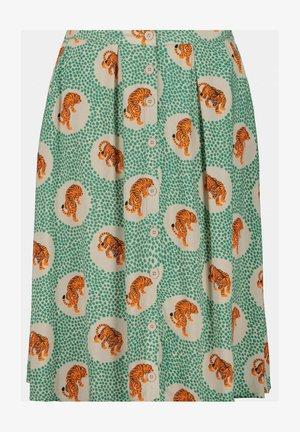 A-line skirt - smaragdgroen