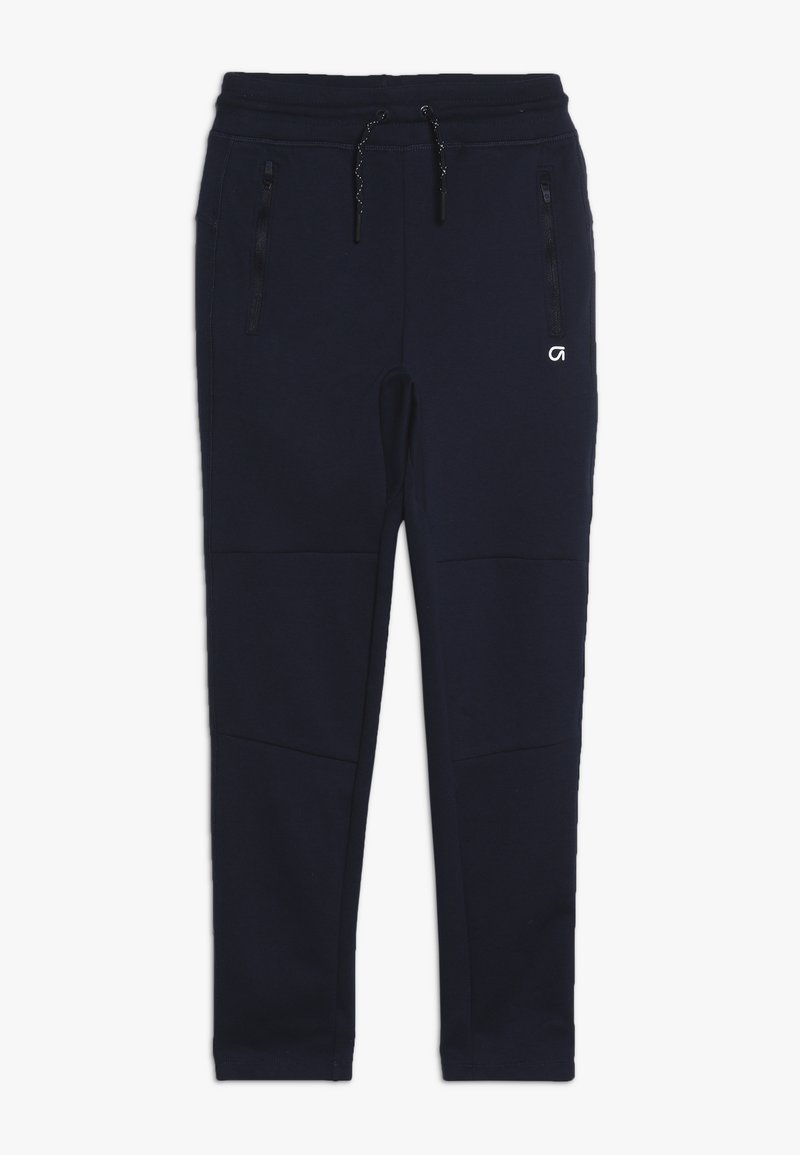 GAP - BOY FIT TECH - Tracksuit bottoms - tapestry navy