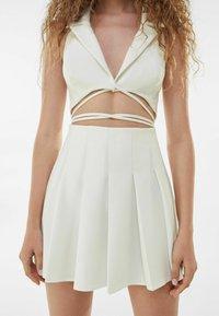 Bershka - Cocktail dress / Party dress - white - 3