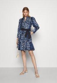 Diane von Furstenberg - DIANA DRESS - Shirt dress - blue - 1