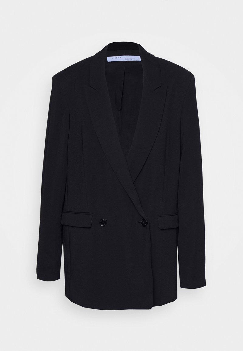 Iro - DEGREE - Krátký kabát - black