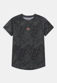 Ellesse - DUGONI UNISEX - Camiseta estampada - black - 0