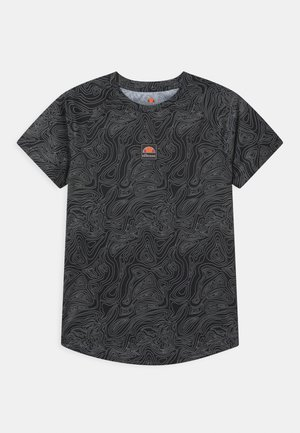 DUGONI UNISEX - Print T-shirt - black