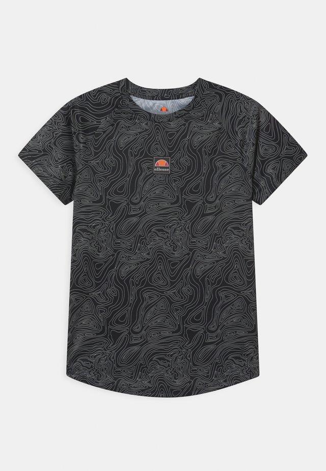 DUGONI UNISEX - T-shirt imprimé - black
