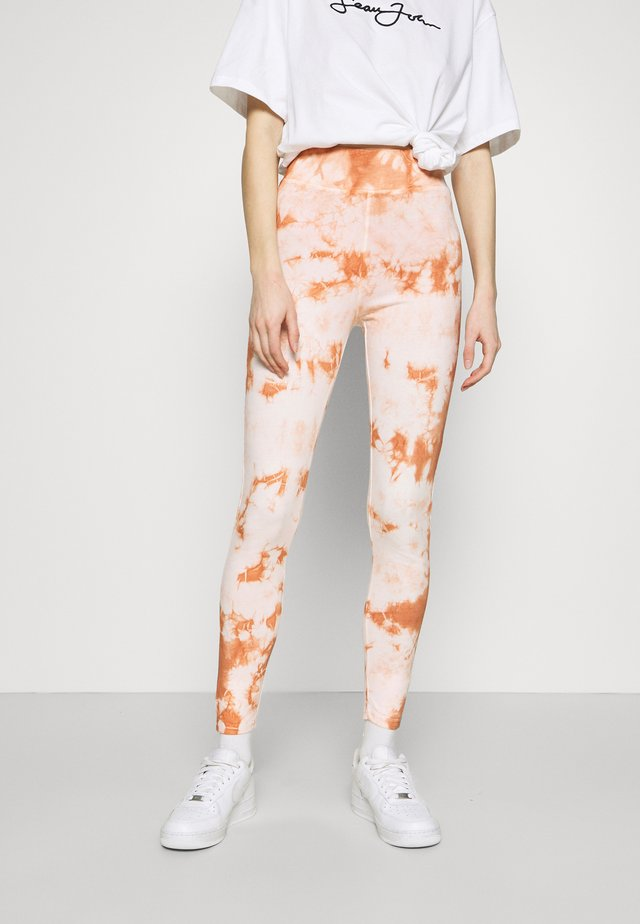 TIE DYE  - Leggings - brown