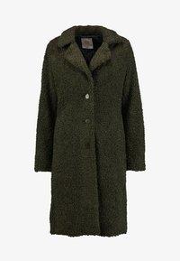 Q/S designed by - Winter coat - dark olive - 4