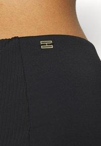 Tommy Hilfiger - SOPHISTICATED HIGH WAIST - Bikini bottoms - black - 3
