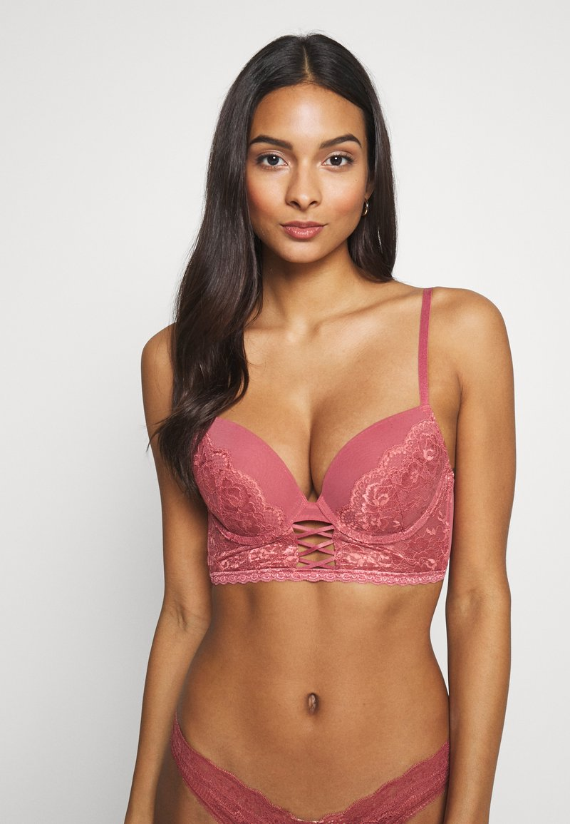 LASCANA - Push-up BH - rouge