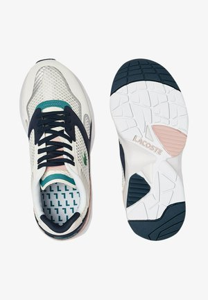 Trainers - off wht/nvy