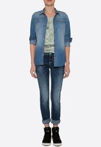 Soccx - Slim fit jeans - dark stone used - 0