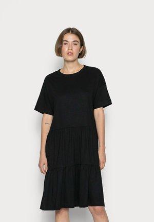 SLFRYLIE SHORT DRESS  - Jersey dress - black