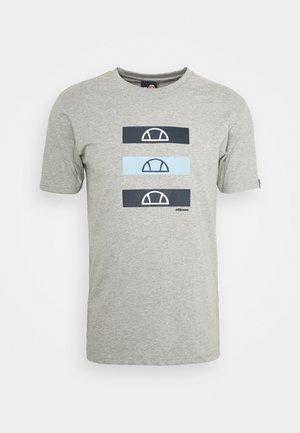 JACE - Print T-shirt - grey