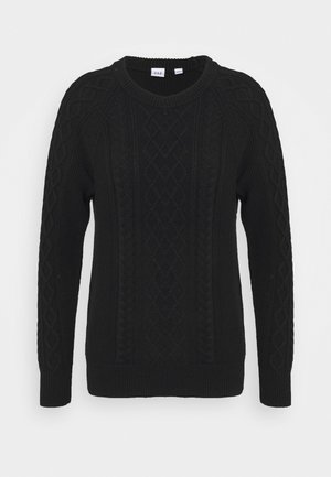 CABLE CREW - Jumper - true black