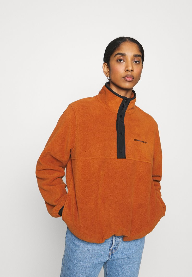 Carhartt WIP - Fleece jumper - cinnamon/black