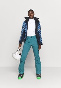 The North Face - W LENADO PANT - Snow pants - mallard blue - 1