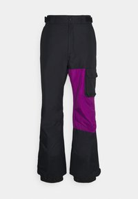 Columbia - HERO SNOWPANT - Snow pants - black/plum - 4