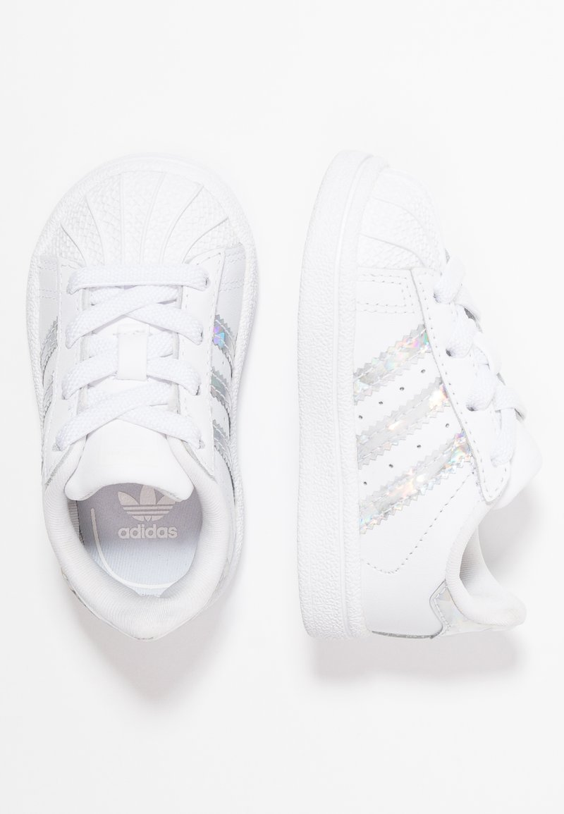 adidas Originals - SUPERSTAR - Baby shoes - footwear white