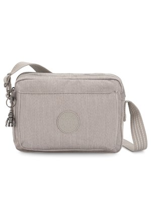 KIPLING PEPPERY ABANU M UMHÄNGETASCHE 24 CM - Across body bag - grey beige pep