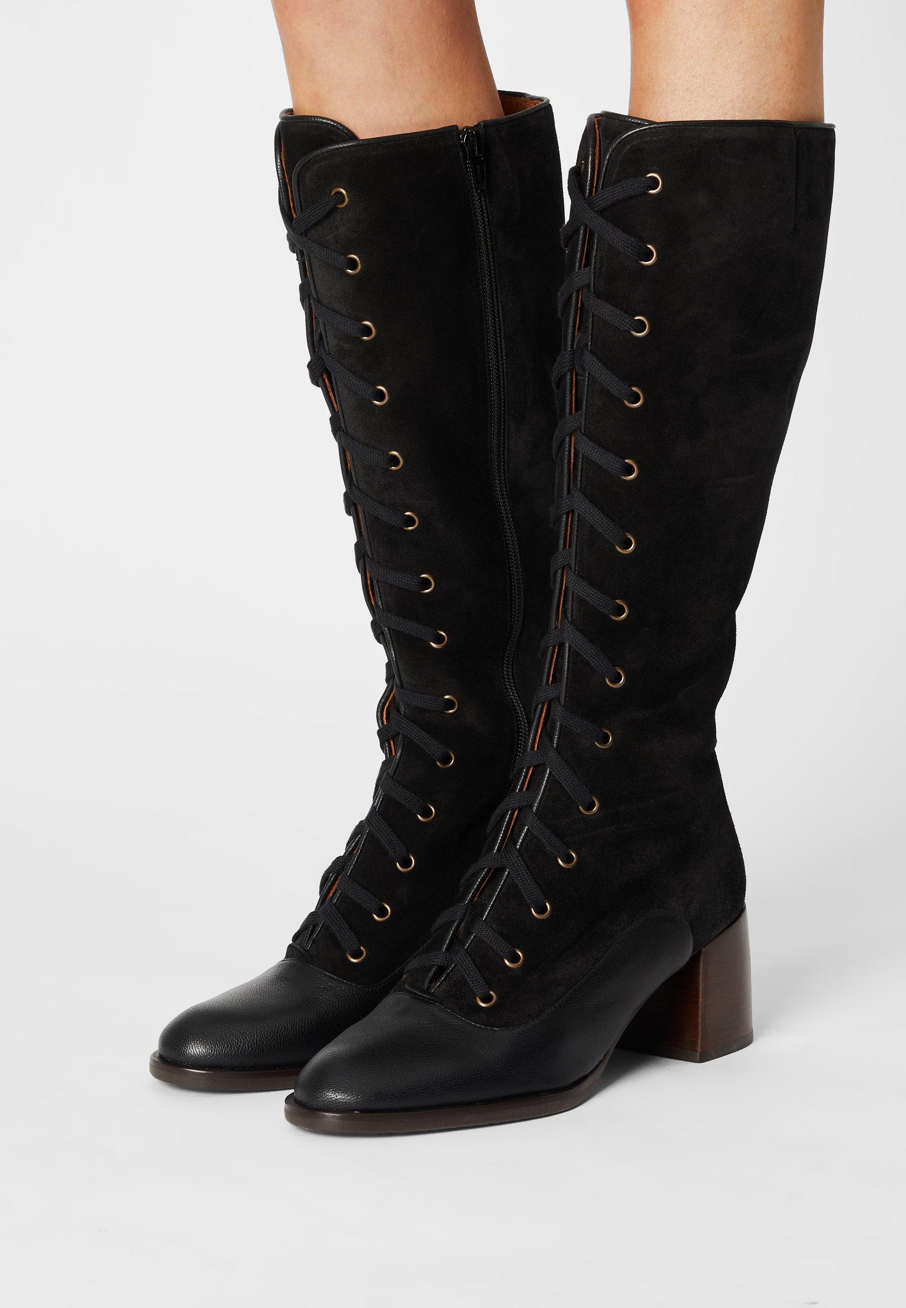 Women ODUBI - Lace-up boots - fox west
