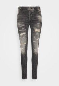 Tigha - BILLY THE KID REPAIRED - Jeans Skinny Fit - vintage black - 5