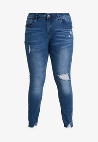Even&Odd Curvy - Jeans Skinny - dark blue denim