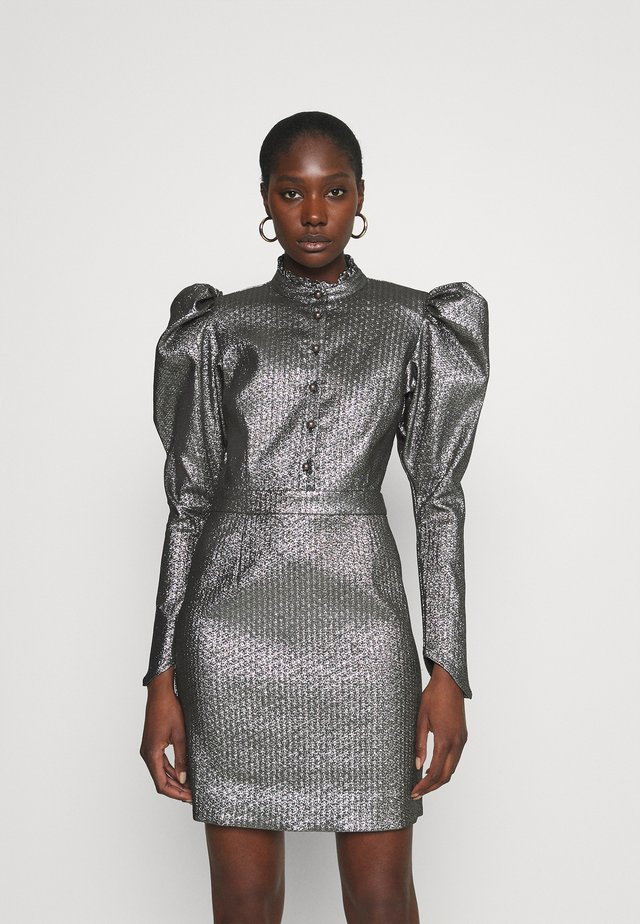 LUVA BY NBS - Shirt dress - silver