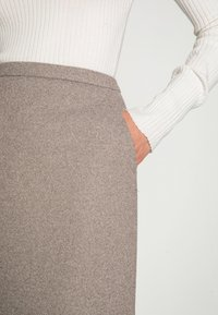Esprit Collection - SKIRTS WOVEN - Mini skirt - caramel - 4