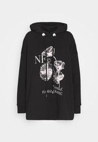 Mother of Pearl - PRINTED HOODIE WITH THICK - Mikina skapucí - black - 5