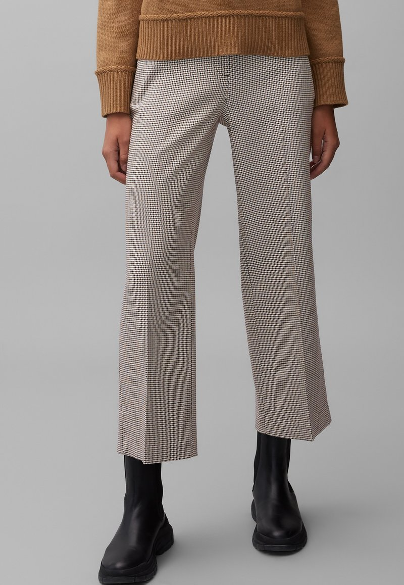 Marc O'Polo - MIT KAROMUSTER - Trousers - multi