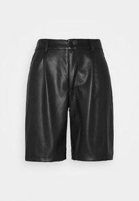 Noisy May Petite - NMWALI PENNY BERMUDA PETITE - Shorts - black - 3