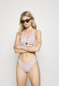 Tommy Hilfiger - PRIDE CHEEKY HIGH LEG - Bikini bottoms - multi-coloured - 1