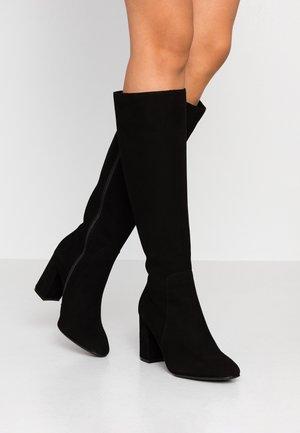WISKY - High heeled boots - nero